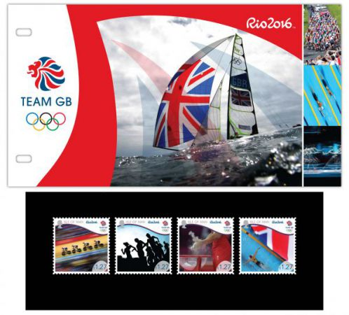 Team GB Rio 2016 Olympics Presentation Pack