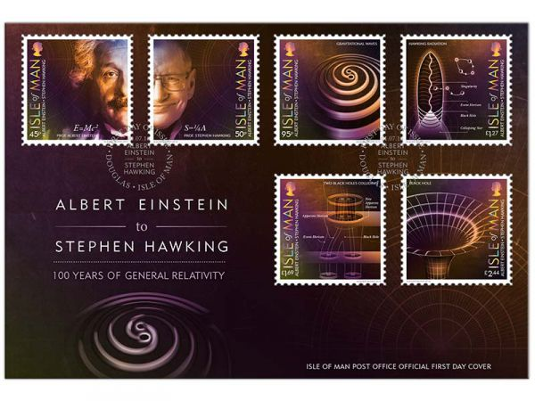 100 Years of General Relativity First Day Cover