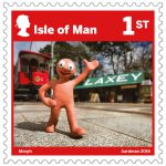 Aardman stamp collection