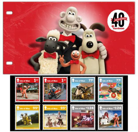 Aardman - 40 Years of Creativity Presentation Pack