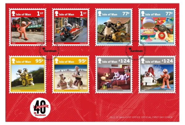 Aardman - 40 Years of Creativity First Day Cover
