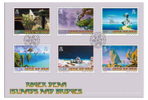 Islands and Bridges First Day Cover