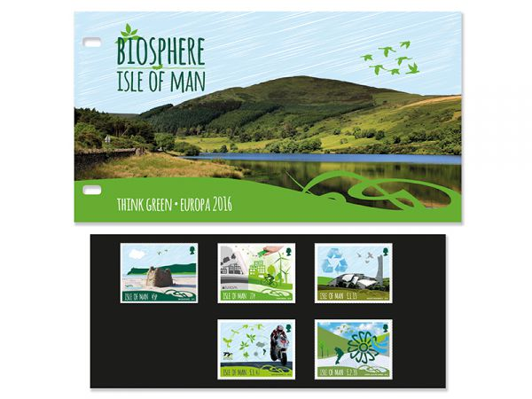 Biosphere Isle of Man Presentation Pack