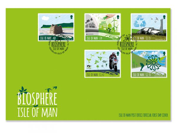 Biosphere Isle of Man First Day Cover