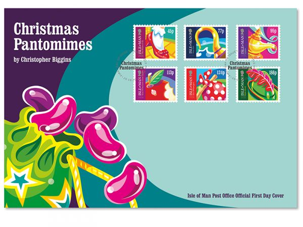 Christmas Pantomimes First Day Cover
