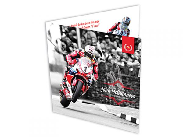 2017 Signed John McGuinness Limited Edition TT £5 Gift Pack