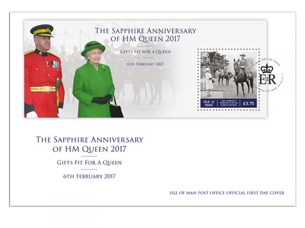 Gifts fit for a Queen Miniature Sheet First Day Cover
