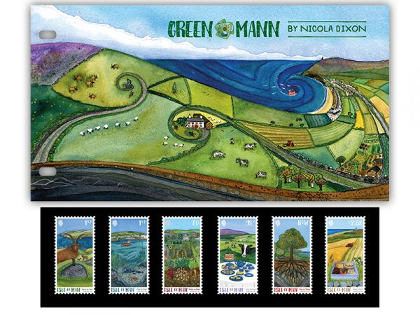 Green Mann by Nicola Dixon Presentation Pack