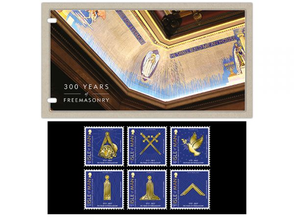 300 Years of Freemasonry Presentation Pack