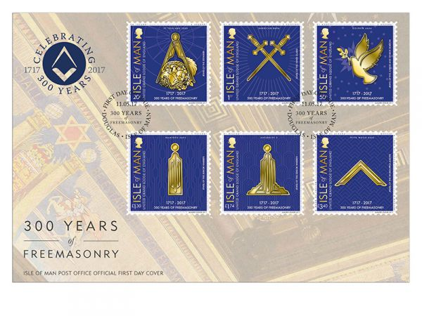 300 Years of Freemasonry First Day Cover