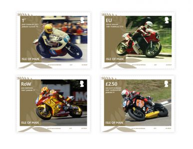 Isle of Man Post Office celebrates landmark anniversaries for TT heroes