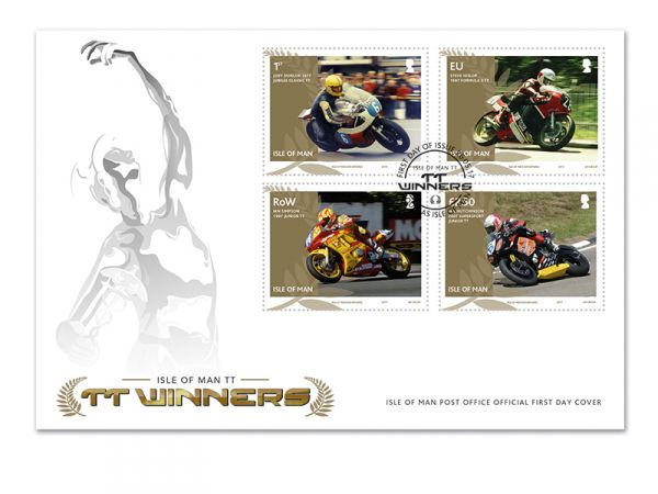TT Winners First Day Cover