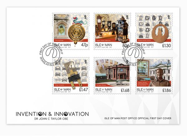 Invention & Innovation Dr John C Taylor First Day Cover
