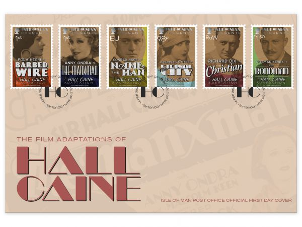 The Film Adaptations of Hall Caine First Day Cover