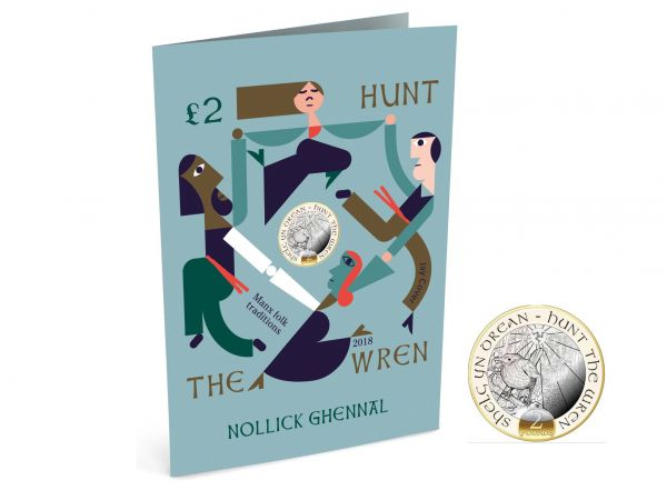 Hunt the Wren Christmas Card & Coin Gift Pack