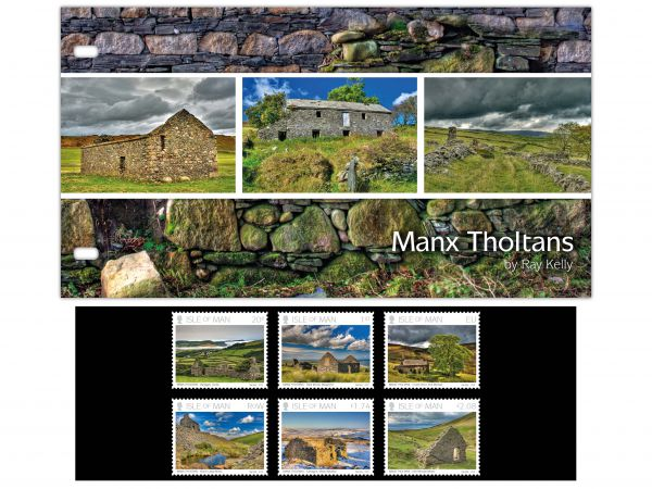 Manx Tholtans by Ray Kelly Presentation Pack