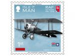 ISLE OF MAN POST OFFICE INTRODUCES STAMPS TO MARK  THE ROYAL AIR FORCE CENTENERY