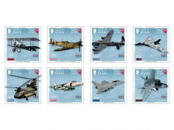 100 Years of the Royal Air Force Set and Sheet Set