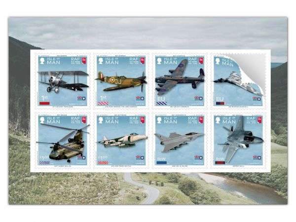 100 Years of the Royal Air Force Self Adhesive Pane