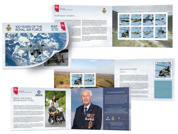 100 Years of the Royal Air Force Prestige Booklet