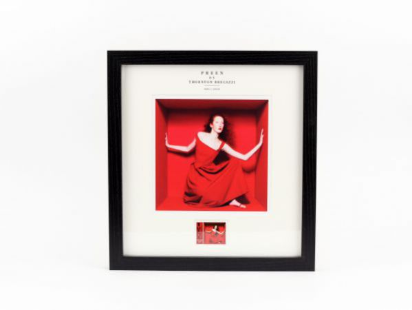 Preen by Thornton Bregazzi - Large Framed Red Finella stamp