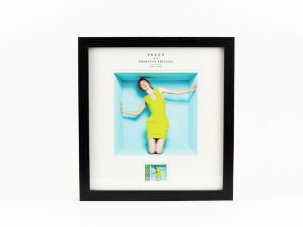 Preen by Thornton Bregazzi - Large framed 'Citrus Power Dress' Stamp