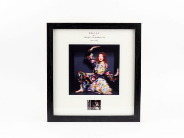 Preen by Thornton Bregazzi - Large Framed 'Quilted Florals' stamp