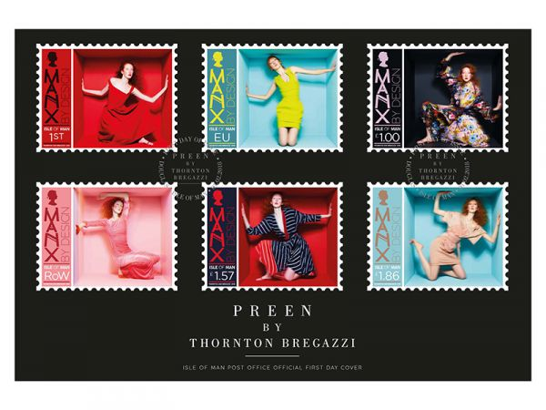 Preen by Thornton Bregazzi First Day Cover