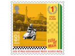 ISLE OF MAN POST OFFICE CELEBRATES THE 60TH ANNIVERSARY OF TEH MANX INTERNATIONAL MOTOR SCOOTER RALLY