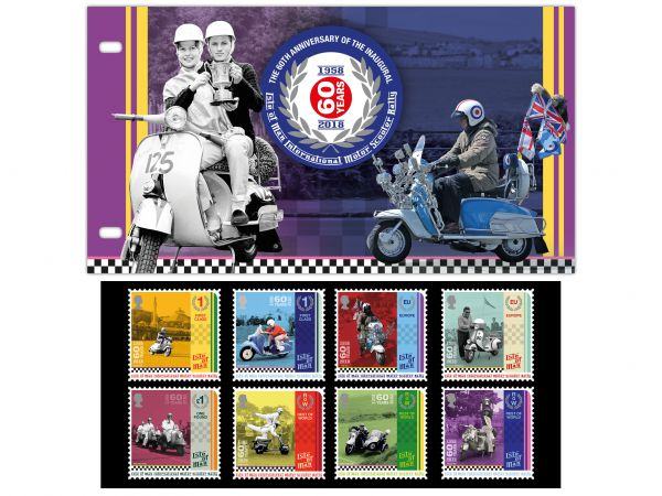 Isle of Man International Scooter Rally Presentation Pack