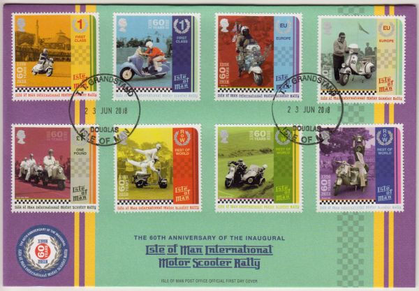 Manx International Scooter Rally Special 60th Anniversary Grandstand Cover