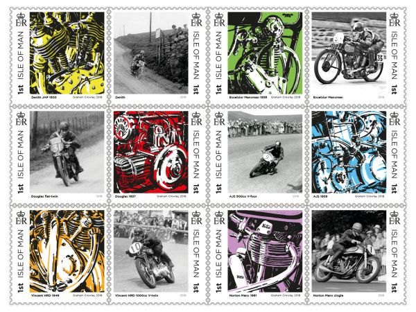 Great British Motorcycles Set and Sheet Set