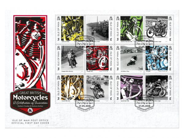 Great British Motorcycles First Day Cover