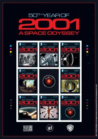 2001: A Space Odyssey Imperforate Sheetlet