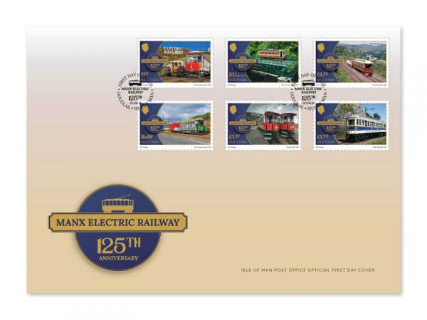 Manx Electric Railway 125th Anniversary First Day Cover