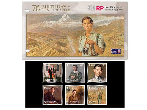 The 70th Birthday of Prince Charles Presentation Pack