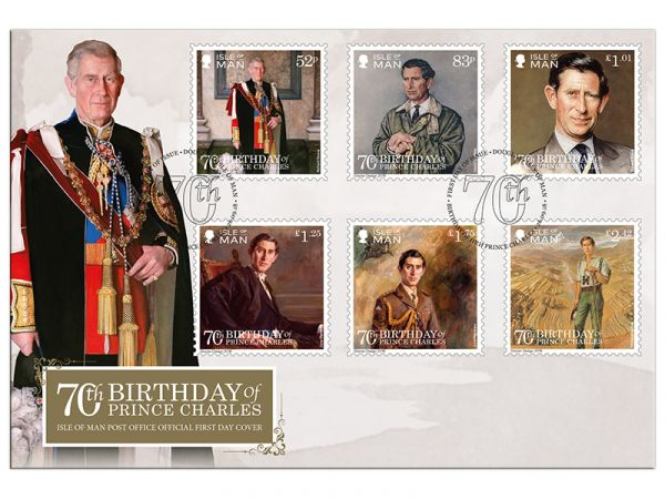 The 70th Birthday of Prince Charles First Day Cover