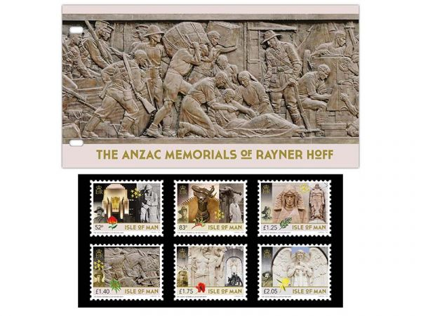 The ANZAC Memorials of Rayner Hoff Presentation Pack