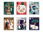 MANX FOLK TRADITIONS RECREATED IN ISLE OF MAN POST OFFICE STAMPS