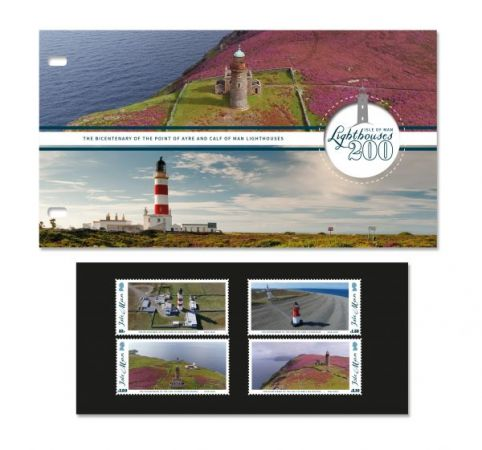 Isle of Man Lighthouses 200 Presentation Pack