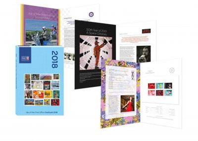 IOM POST OFFICE CELEBRATES 2018 WITH THE LIMITED EDITION YEARBOOK