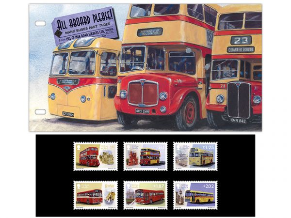 All Aboard Please! Manx Buses Part Three Presentation Pack