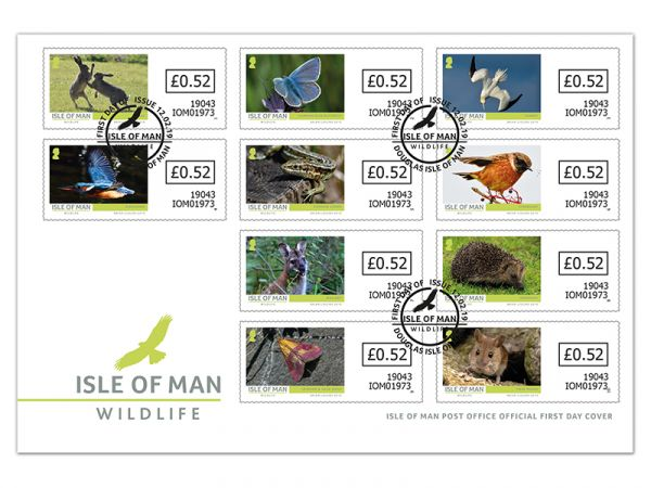 Isle of Man Wildlife VVD Self Adhesive First Day Cover