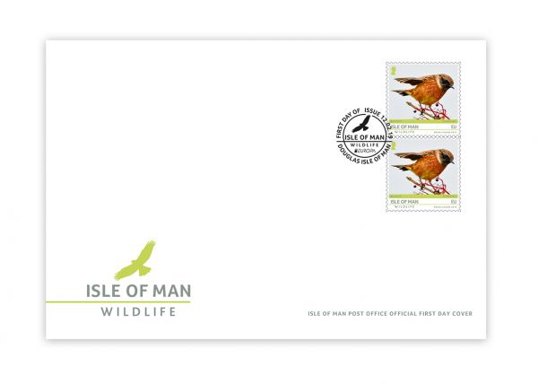 Isle of Man Wildlife Europa First Day Cover