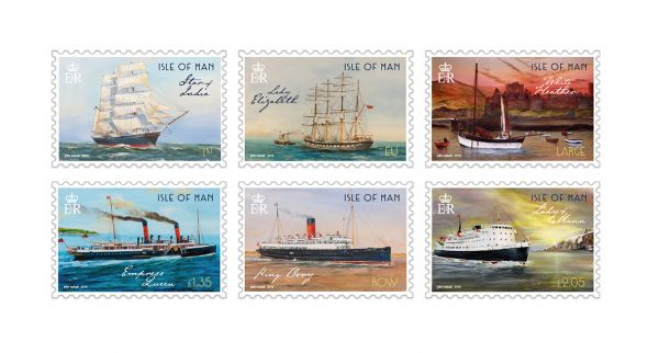Maritime History II by John Halsall Set and Sheet Set