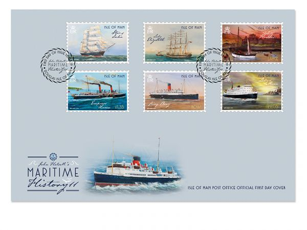 Maritime History II by John Halsall First Day Cover