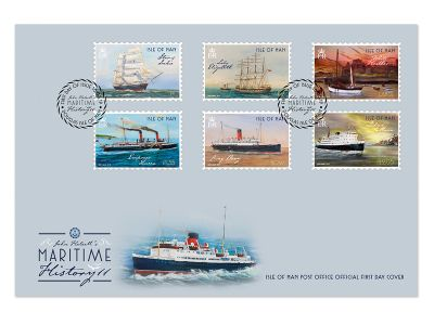 MANX MARITIME HISTORY REFLECTED ON STAMP COLLECTION