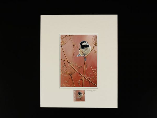 Jeremy Paul Town & Country Birds Signed Coal Tit Print