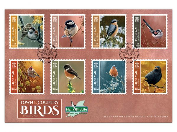 Town & Country Birds First Day Cover