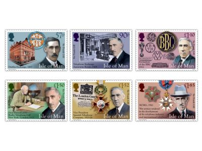 Isle of Man Post Office Honours The Life and Career of Sir Frank Gill KCMG OBE on Stamp Collection